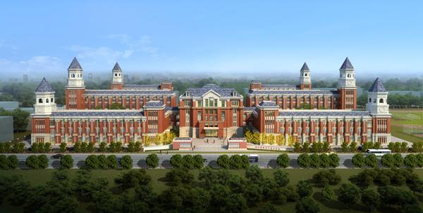 中国临沂爱丽斯国际学校建筑设计理念